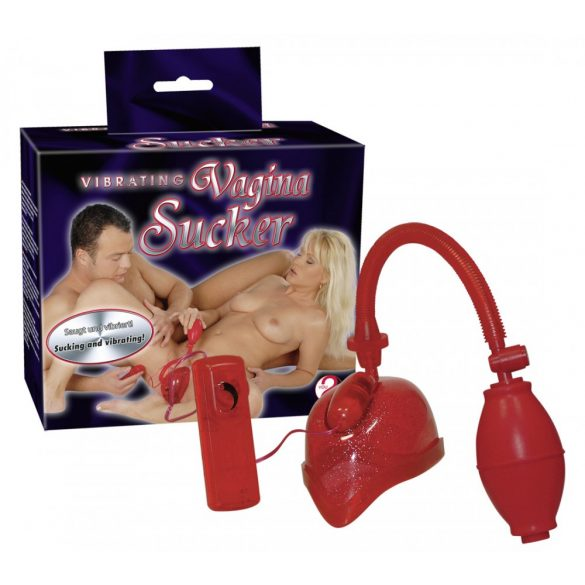 Vib Vagina Sucker -vibrációs vaginaszívó 4024144564910