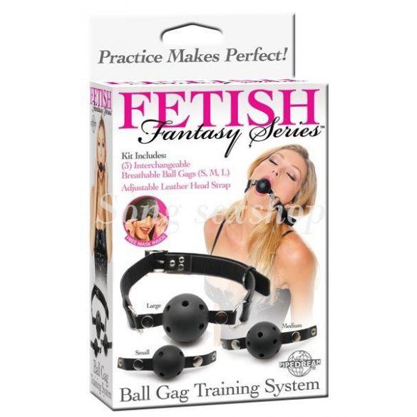 Fetish Fantasy Series - Ball Gag Training System  603912254204