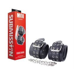 MOI Double Barrel | Wrist Cuffs With Iron Chain    kézbilincs