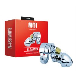 MOI El Castita | Chromed Male Chastity Device Ø 50 mm.   Farokketrec