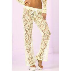 Pink Lipstick Luxurious Lace Lounge Pants    csipkés szexi nadrág    017036442827