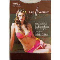 Leg Avenue 3 Pc Meh Soft Bra ToP
